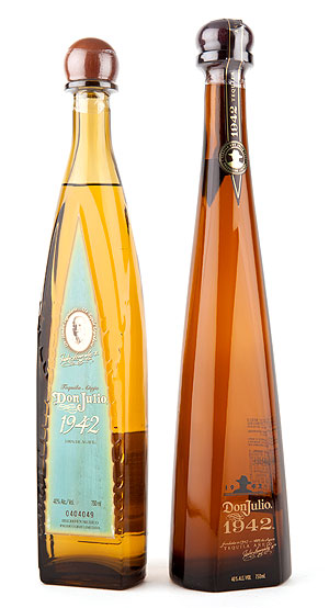 Don Julio 1942 Tequila Bottles Old and New