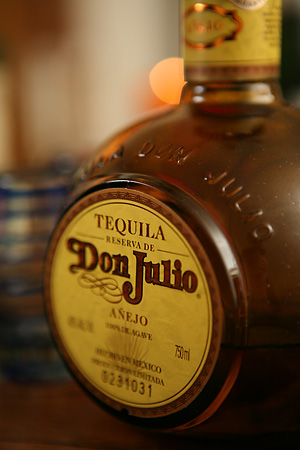 Don Julio Anejo, my first tequila crush.