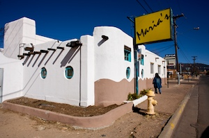 Look for that yellow sign when you are in Santa Fe and you need a positive tequila-sipping experience.