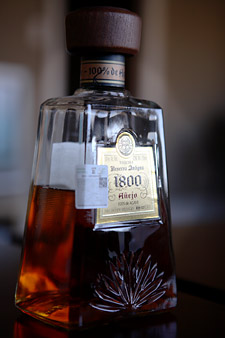 This bottle of 1800 Añejo was produced in the Cuervo distillery.
