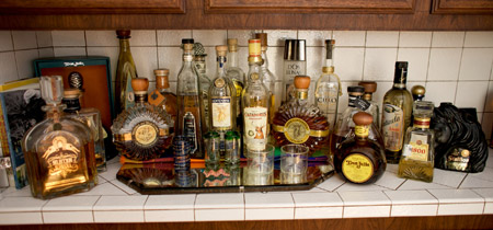 Our tequila collection as it appears today (March 2009)