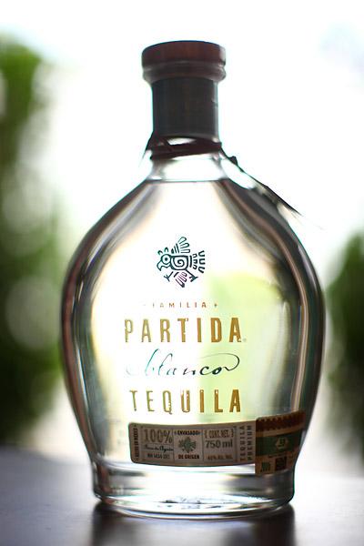 Partida Blano tequila