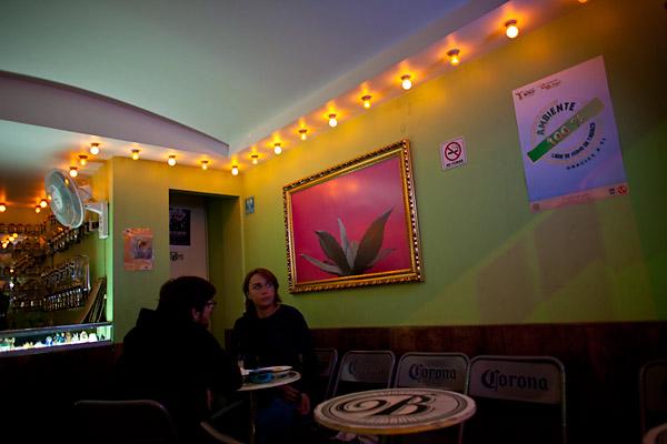 La Botica, Interior