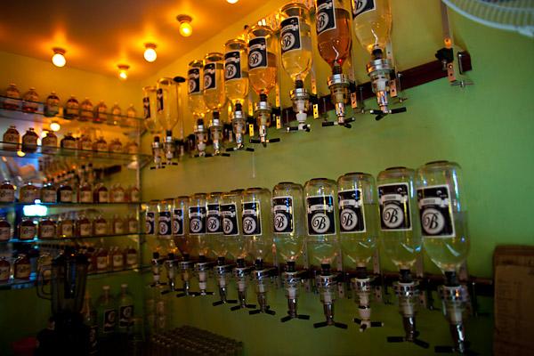 La Botica mezcal bar