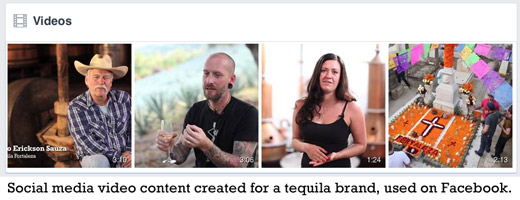 Custom Content for Tequila Brands