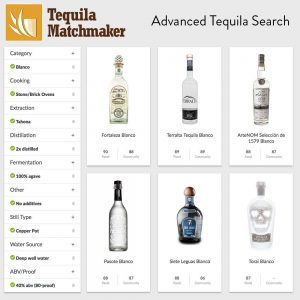 Advanced tequila search tools
