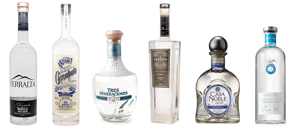 Tequila Blind Tasting Lineup - Aug 19, 2019
