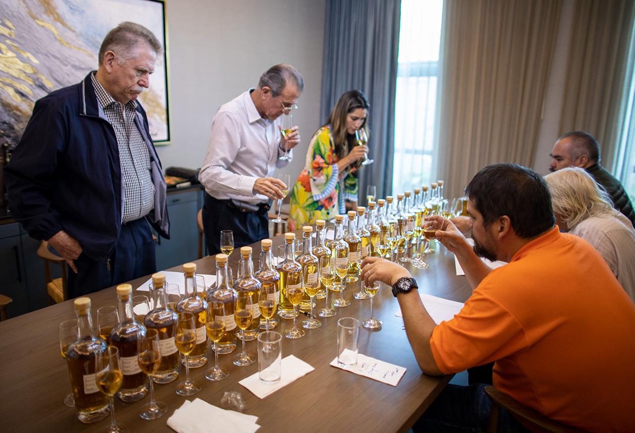 El Tequileño Tequila Blending Team