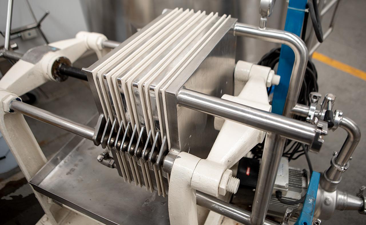 Cellulose Filtration machine