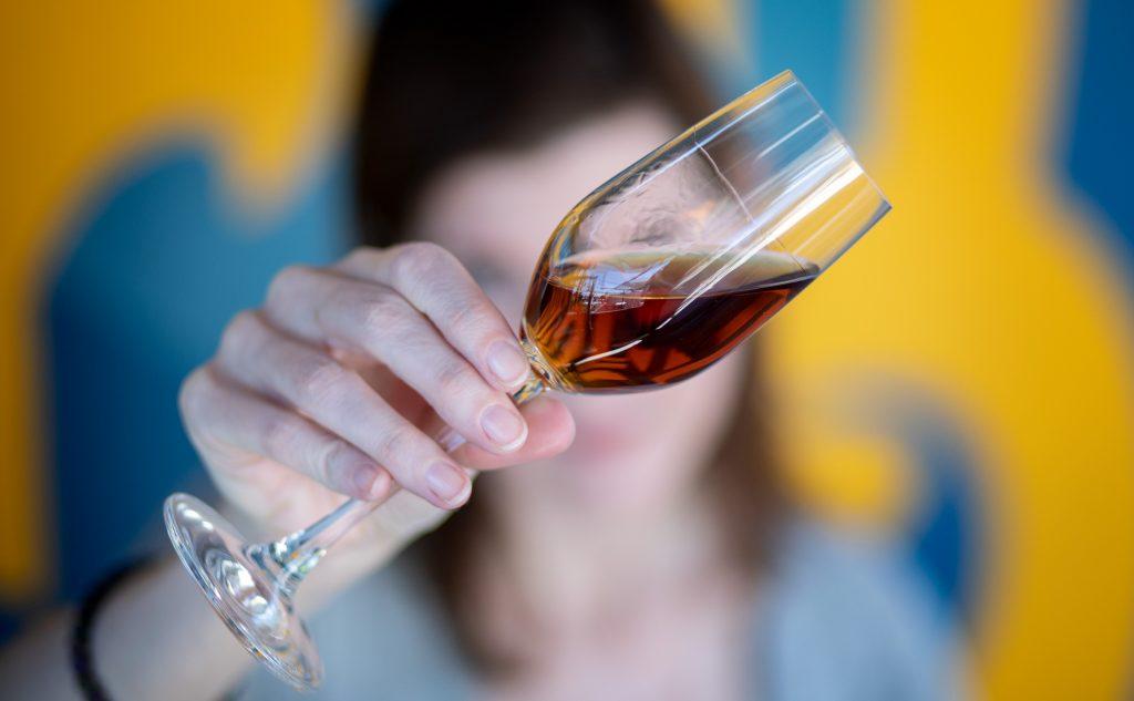 Añejo Tequila in a Glass